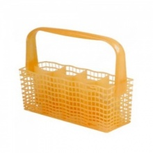 Zanussi Yellow Dishwasher Cutlery Basket