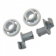 Bosch Dishwasher Upper Basket Wheels Pair