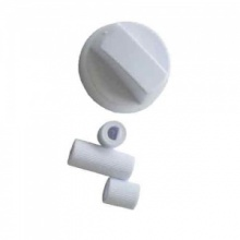 Universal White Cooker Control Knob
